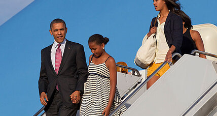 Malia Obama: Old enough to be 2012 campaigner?