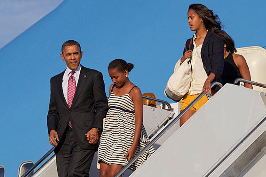 Malia Obama: Old enough to be 2012 campaigner? - CSMonitor com