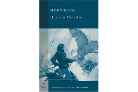 fate in herman melvilles moby dick Nineteenth-century illustration for herman melville's 'moby-dick'  a whaling  voyage this the invisible police officer of the fates, who has the.