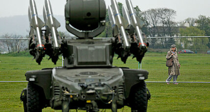 Six missile sites to protect London Olympics