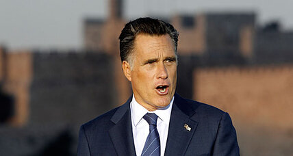 Mitt Romney angers Palestinians with 'racist' speech in Israel