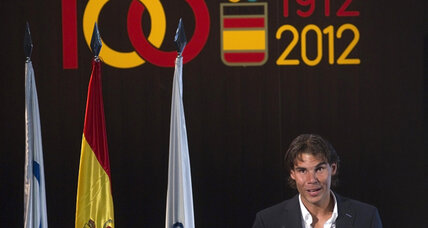 Spanish tennis star Nadal pulls out of London Olympics