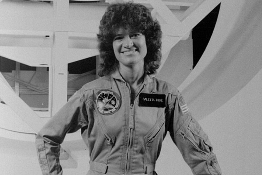 Sally Ride: The celebrity-shy, first US woman in space - CSMonitor.com