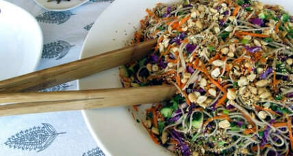 Meatless Monday: Asian soba noodle salad