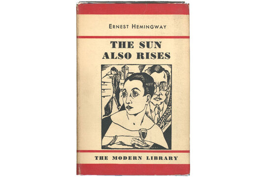 the heroism portrayed in ernest hemingways the sun also rises
