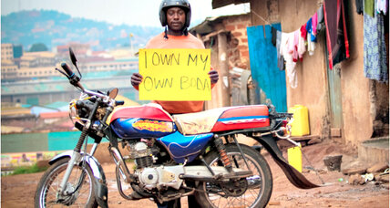 'Own your own boda' (motorcycle taxi) empowers Ugandans