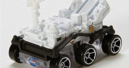 Mars Curiosity Rover soon to be available as a Hot Wheels toy (+video)