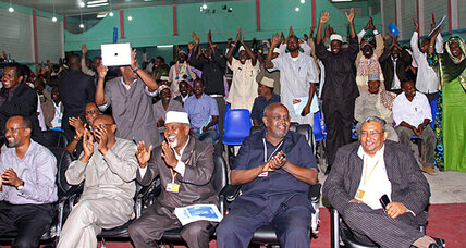 With draft constitution, Somalia draws closer to democracy