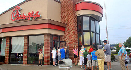 Defenders of Chick-fil-A fight back, from both right and left