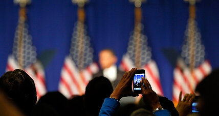 Following the Obama-Romney race via smart-phone app: Good idea?