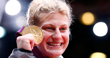 Kayla Harrison: first-ever gold for US judo forged from adversity