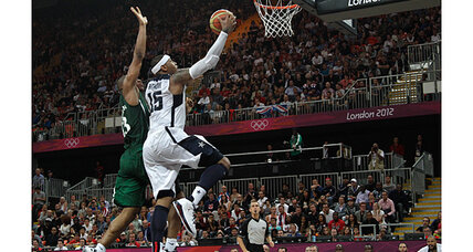 Olympics basketball: US men's team blows by Nigeria, 156-73