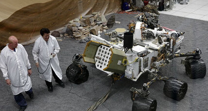 How will the Curiosity Mars rover phone home?