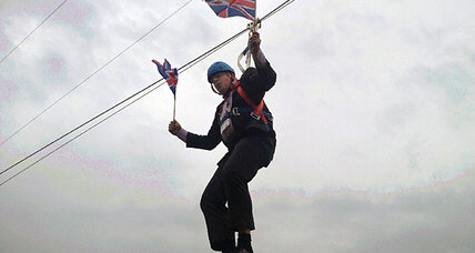 Boris! Mayor of London is biggest winner at London Olympics.