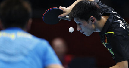 London 2012 table tennis: With Olympic gold, China's Zhang earns table tennis grand slam