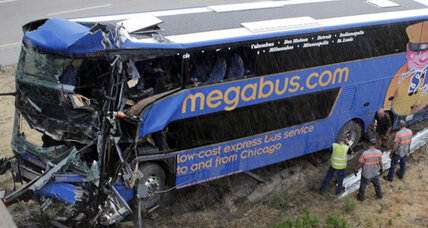 Illinois Megabus crash: Bus made in 2011, inspected days ago