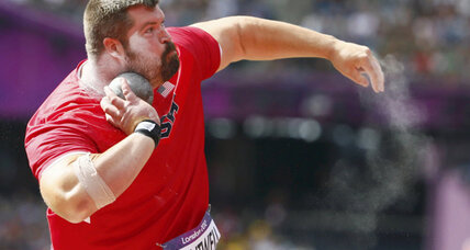 London 2012 shot put signals weekend packed with track and field