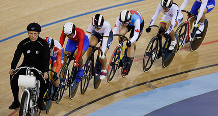 It's London Olympics meets 'Jersey Shore': Welcome to the Velodrome