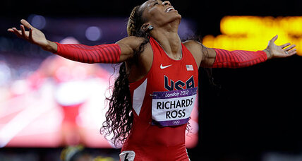 Sanya Richards-Ross overcomes doubt and injury to win 400 meters gold