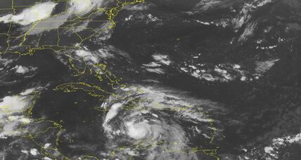 Tropical Storm Ernesto pushes rain and wind toward Jamaica
