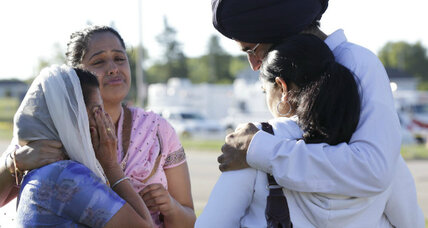 Sikh temple shooter: decorated Army veteran on watchlist for 10 years (+video)