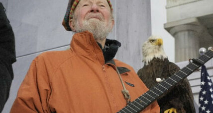 Pete Seeger: Folk singer continues to connect families with music