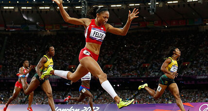 Allyson Felix: Olympic gold at last for athlete of uncommon grace