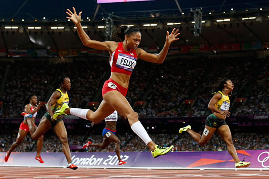 Allyson Felix Olympic Gold At Last For Athlete Of