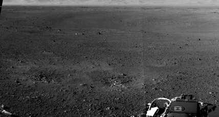 Hey, is that Mars or the Mojave in NASA rover's photo?