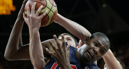 London 2012 basketball: US men and women take on the Aussies