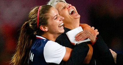 Olympics soccer: Is Alex Morgan the next Mia Hamm? Teammates gush.