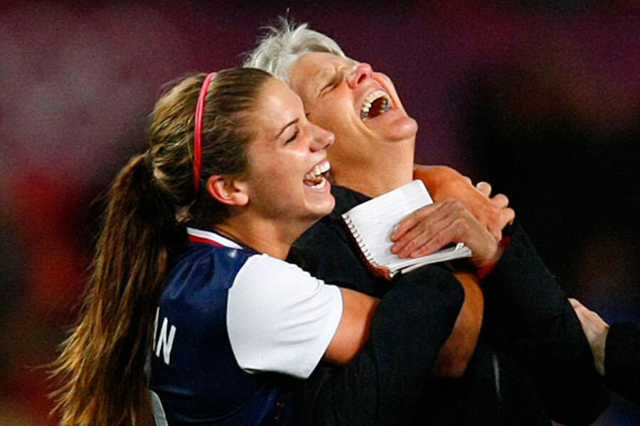 Olympics soccer is alex morgan the next mia hamm teammates gush olympics soccer is alex morgan the next mia hamm teammates gush csmonitor voltagebd Image collections