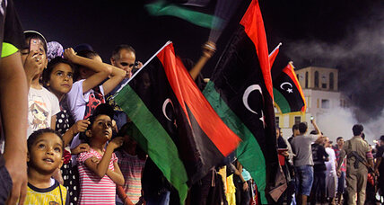 Libya celebrates first peaceful transition of power