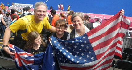 London 2012 Olympics: A family postcard from the Games