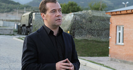 Was Putin in charge during Georgia war? Medvedev begs to differ.