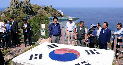 Why Japan is angry over South Korea's visit to an island
