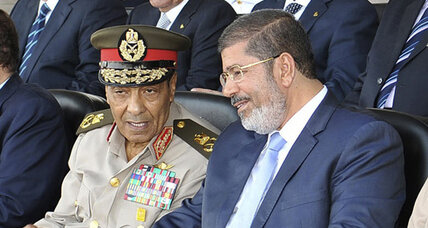 Egypt's President Morsi fires senior general Tantawi, asserting his power