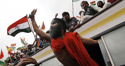 Indian yoga guru arrested during anticorruption protest
