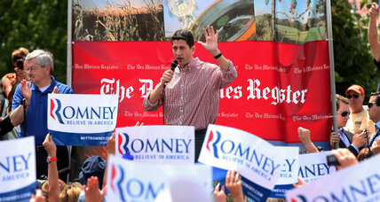 Iowa State Fair: Ryan faces hecklers and Obama (+video)