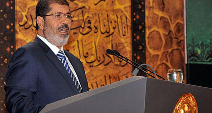 What exactly has Egyptian President Morsi done?