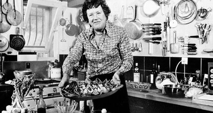 Julia Child's first recipe: shark repellent