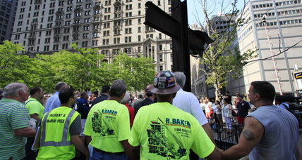 Sept. 11 museum says steel cross, 'historical object,' should stay