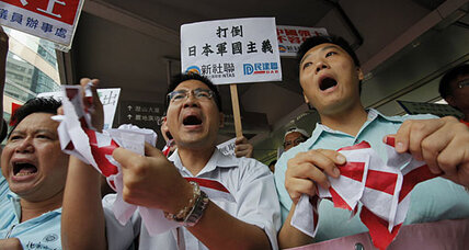 Japan considers deporting arrested Chinese activists
