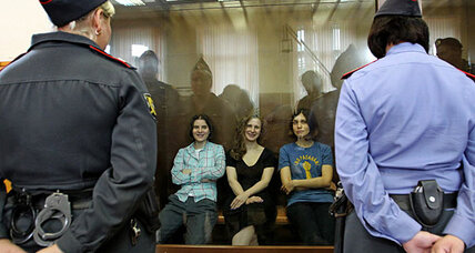 Russian feminist band Pussy Riot found guilty of hooliganism