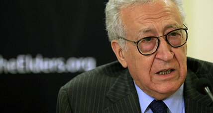 UN diplomat Brahimi to take over from Annan as envoy to Syria