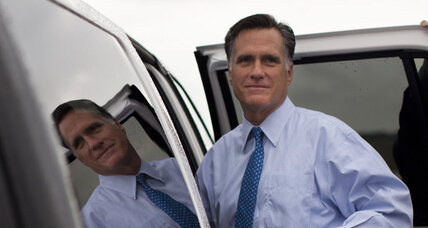 Before tough week of campaigning, Mitt Romney attends church