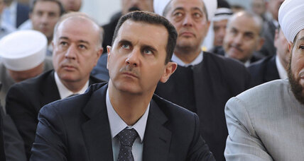 Syria's Assad emerges in public to mark Eid al-Fitr