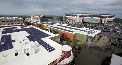 As Patriots (and pro sports) go solar, will fans follow?