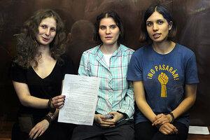 Pussy Riot Punk Band Free russe Russie prison Musique T Shirt