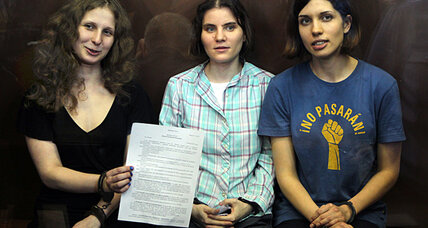 Pussy Riot: the anonymous band behind the high-profile conviction (+video)